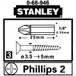 "OTSIK PH2 ST-0-68-946*P3 1/4 "" STANLEY"