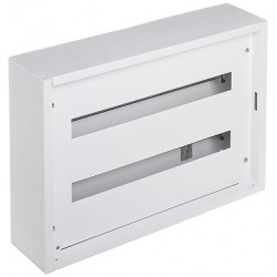 SURFACE-MOUNTING DISTRIBUTION CABINET 48-MODULAR LE-337202 XL sup 3 /sup S 160 LEGRAND