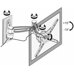 TV VÕI MONITORI KINNITUS BRATECK-LCD-141A