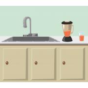 Kitchen, plumbing