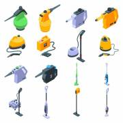 Steam and pressure cleaners